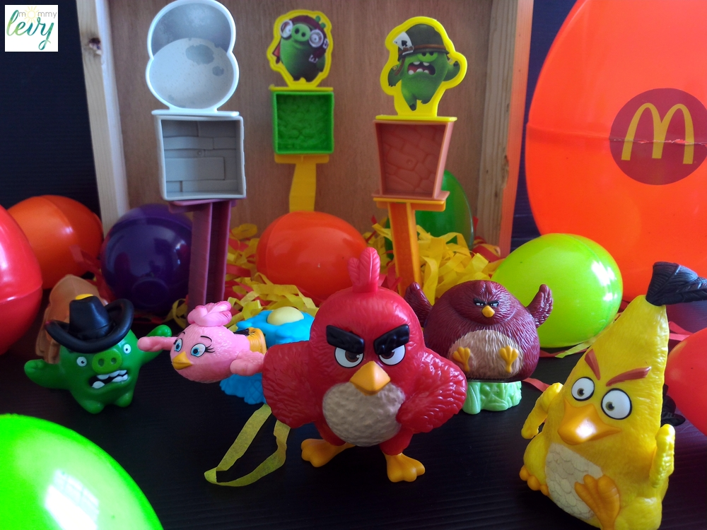 McDonald's Happy Meal 2016: Angry Birds
