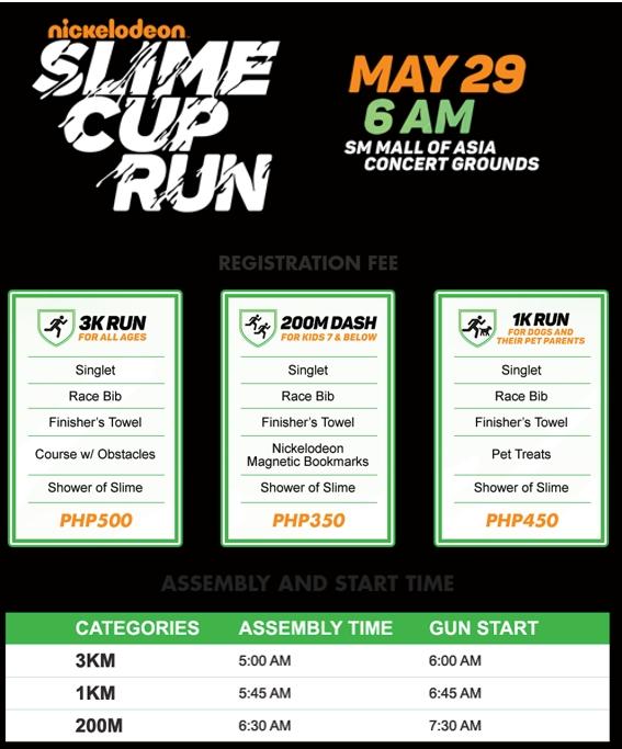 Nickelodeon Cup Run
