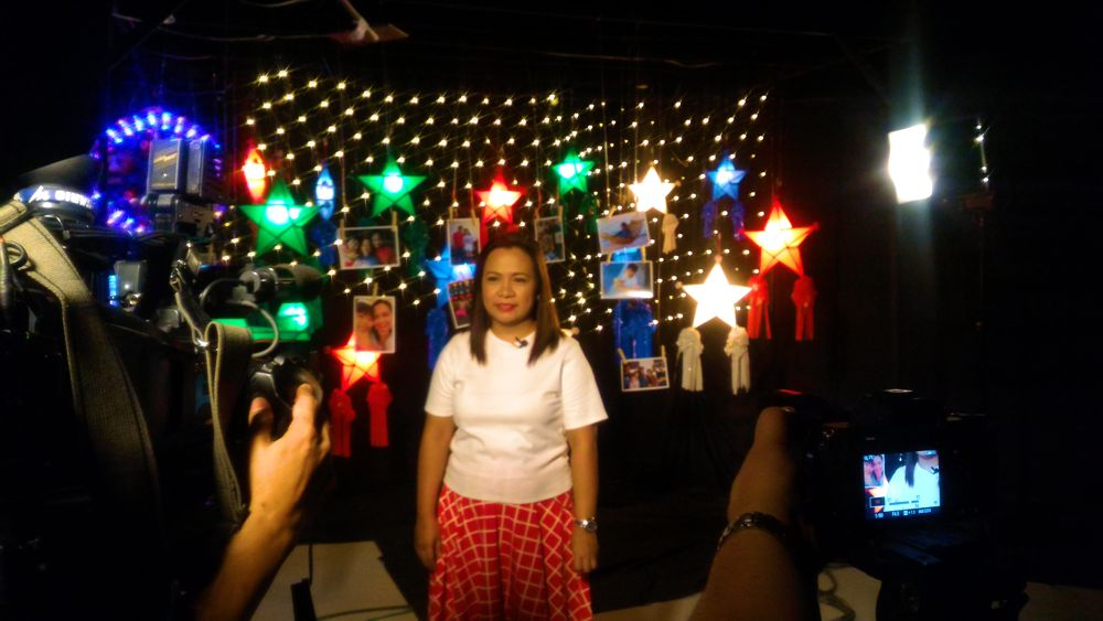 Mommy Levy on PTV 4 Pasko Ng Buhay Ko Station ID