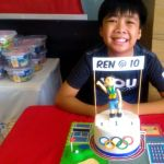 Olympic Theme Birthday Party for Ren at 10