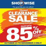 Shopwise B19Time Anniversary Sale: 1st to 3rd Edition Overview
