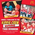 McDonald's Kiddie Crew Workshop 2018