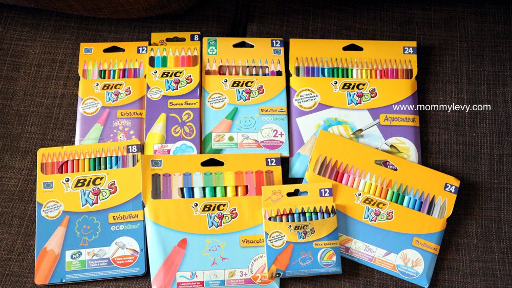 BIC Coloring Products Designed for small hands