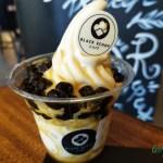 Black Scoop Milk Tea Soft Serve Ice cream