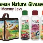Win Human Nature Kid's Lunch Box and Natural Shampoo 500ml