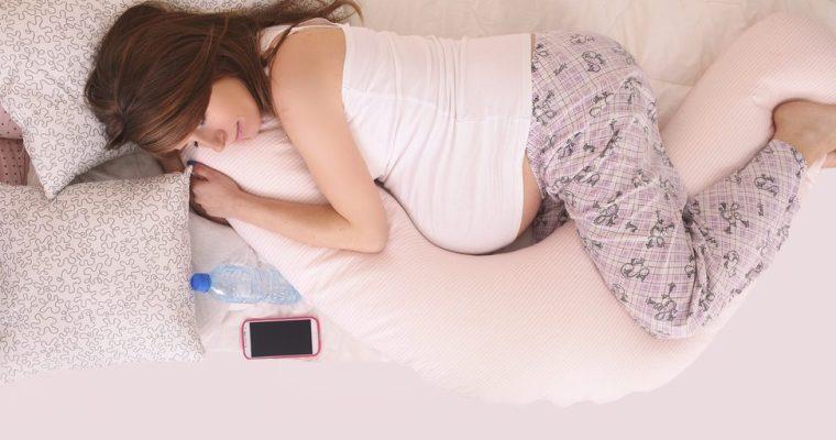 Een zwangerschapskussen is een echte must