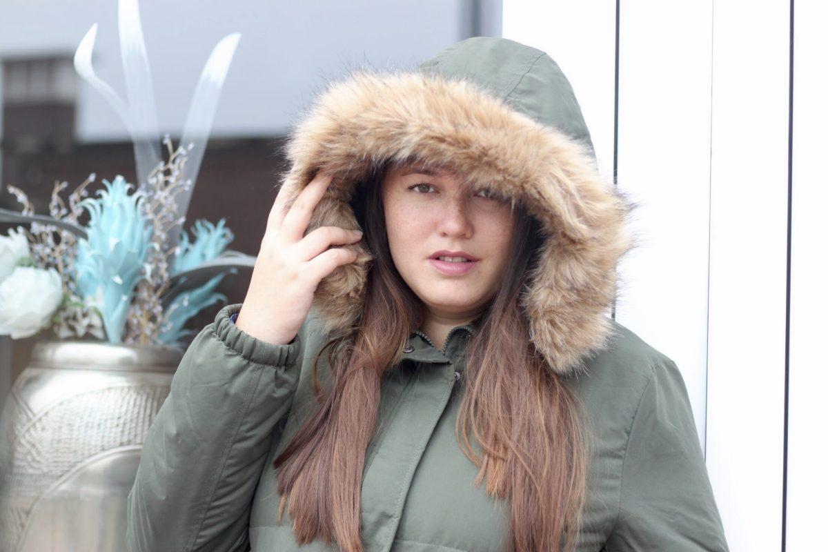 Outfit - een zwangerschapsjas voor de winter!