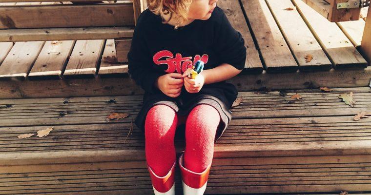 #OOTD \\ Lief en sportief in een sweaterjurk