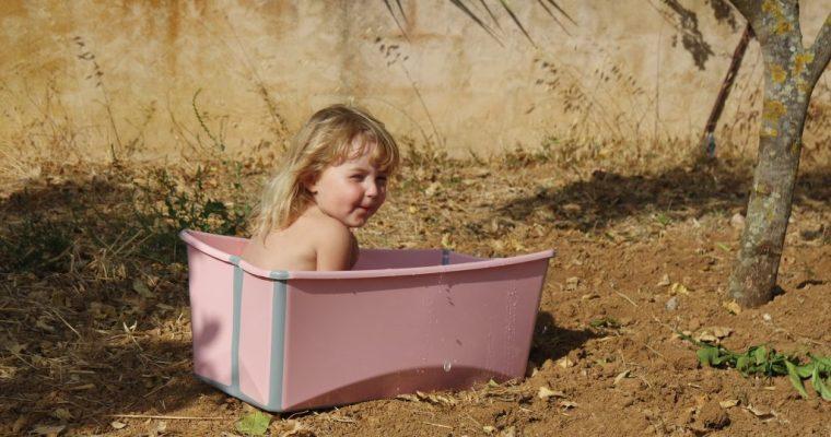 Veilig badderen met kleine kindjes