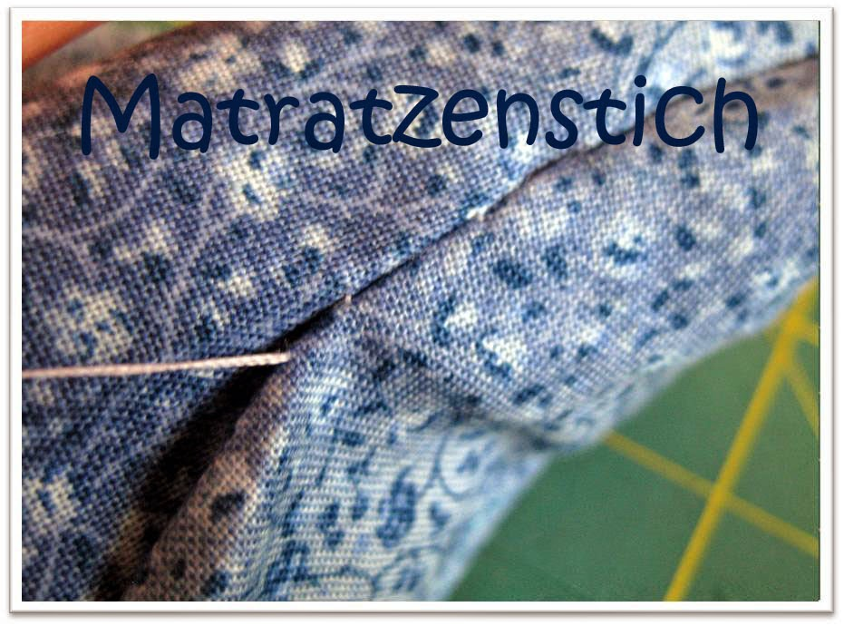 Matratzenstich-Tutorial