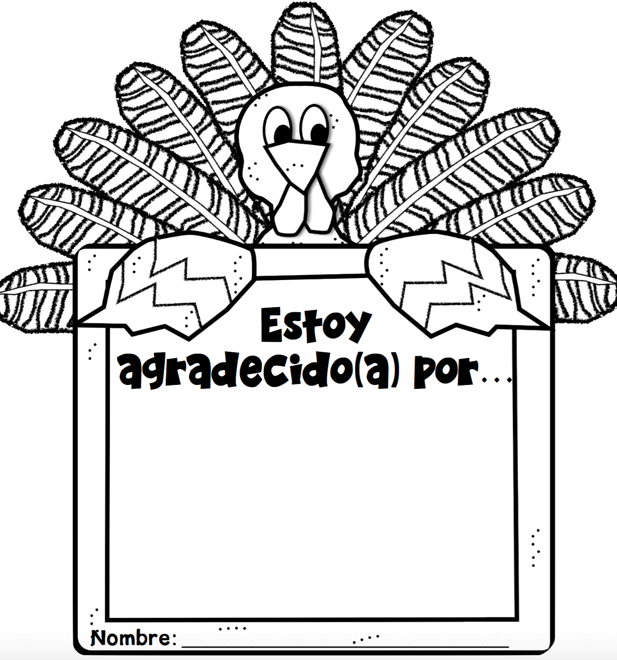 Collection Of Spanish Thanksgiving Worksheets