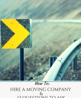 How to Hire a Moving Company and 12 Questions to Ask