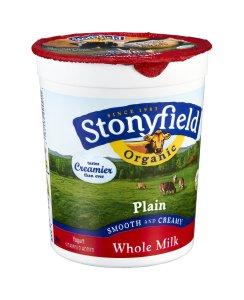 Stonyfield Plain Yogurt