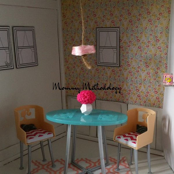 Dollhouse Dining Room Furnished