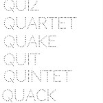 Q Words Activity Pages