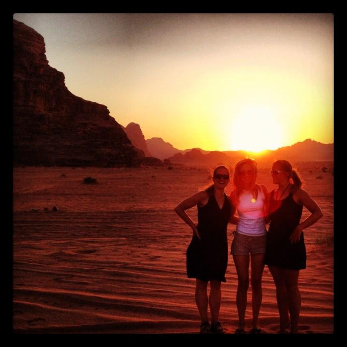 Sensational Sunsets: Wadi Rum, Jordan