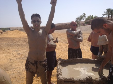 Full Body Mud Coverage