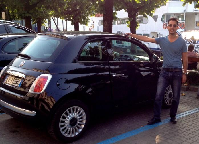 honeymoon in italy car