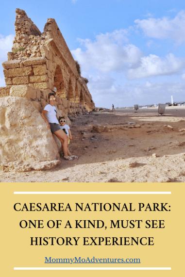 Caesarea National Park Pin