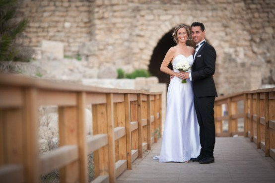 Wedding Venue at Caesarea National Park