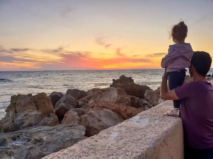 Caesarea Port Sunset