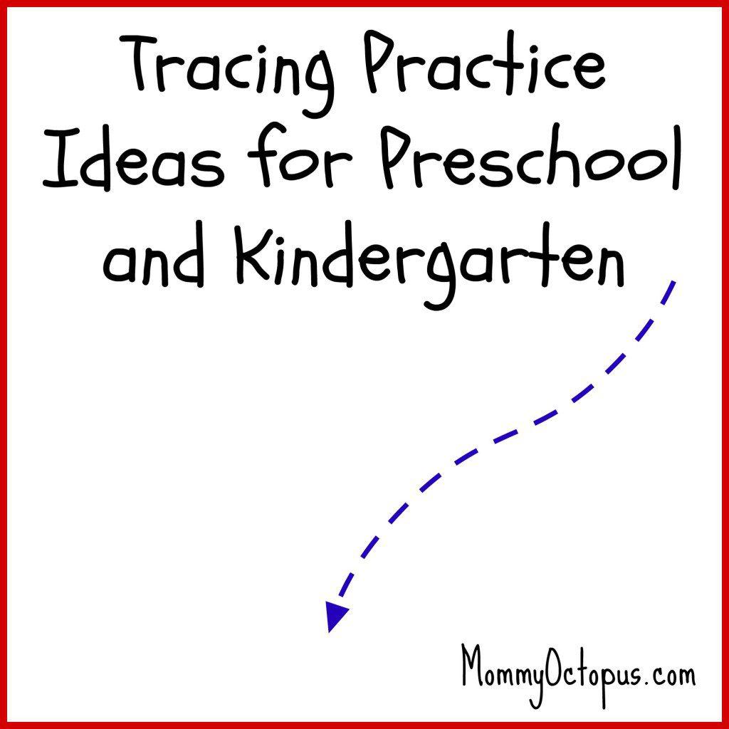 Tracing Practice Ideas For Preschool And Kindergarten