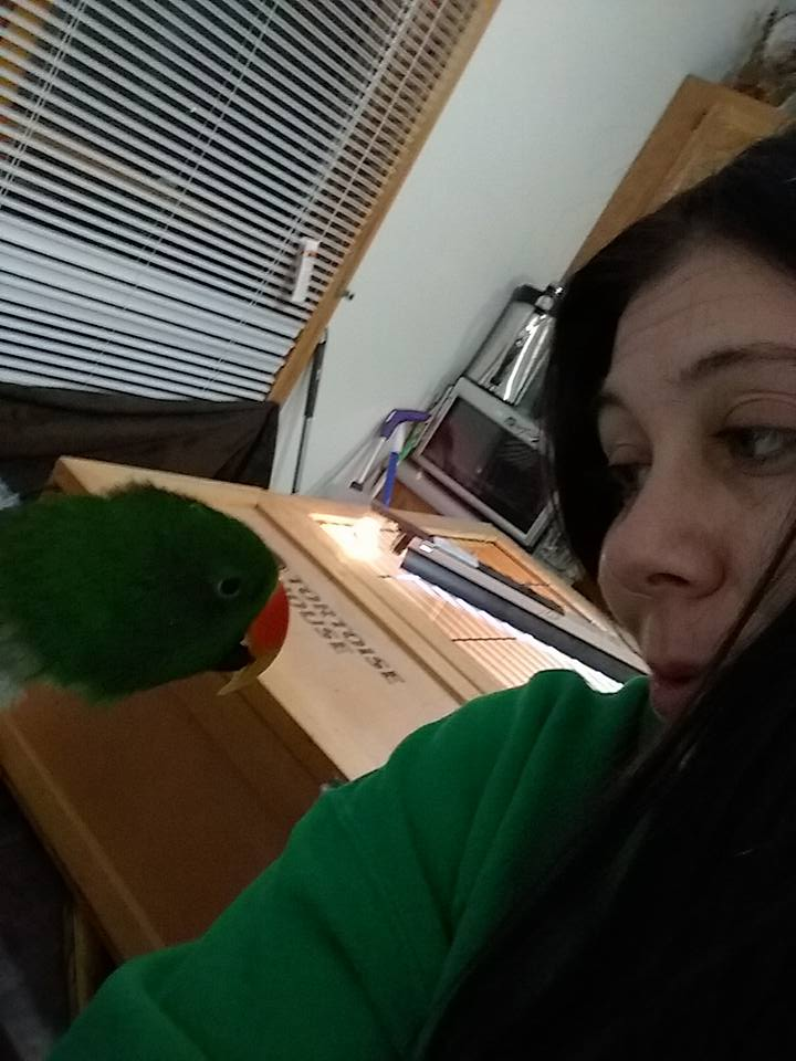 just a girl and her bird