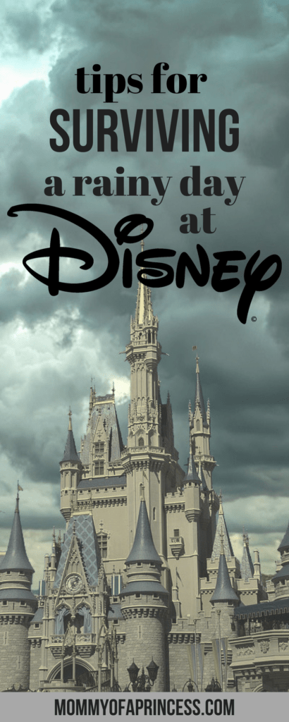 Surviving a rainy day at Disney World
