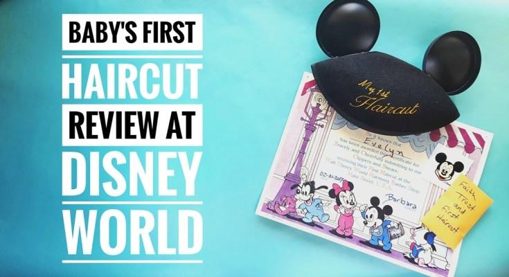 Baby's First Haircut at Disney World