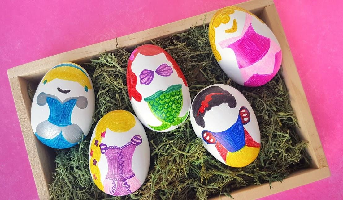 Disney Princess Easter Eggs Tutorial
