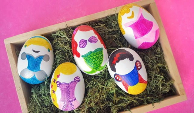 Disney Princess Easter Eggs Tutorial