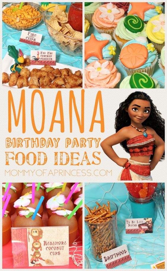 Moana Birthday Party Ideas Pinterest