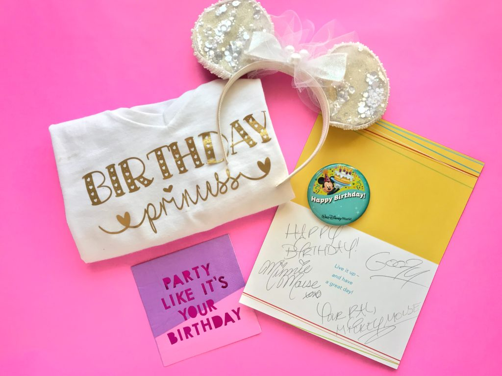 Birthday at Disney World Freebies