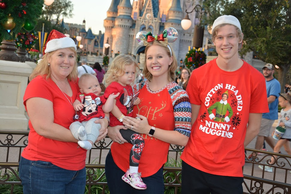 Christmas Party at Disney World