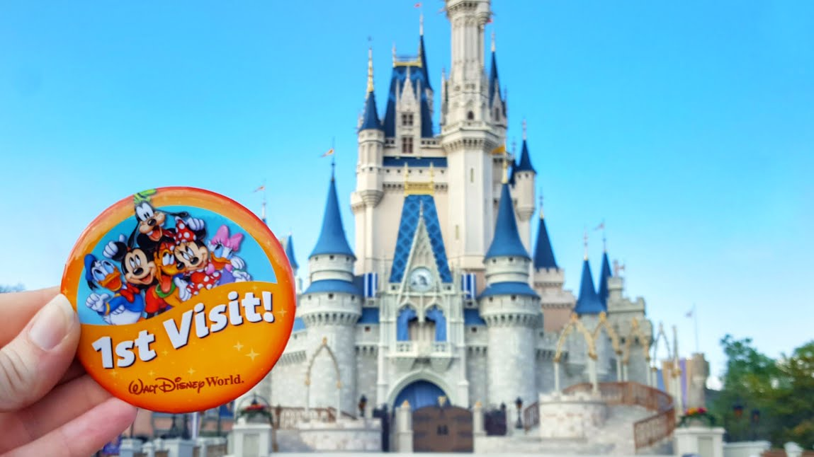 First Visit to Disney World