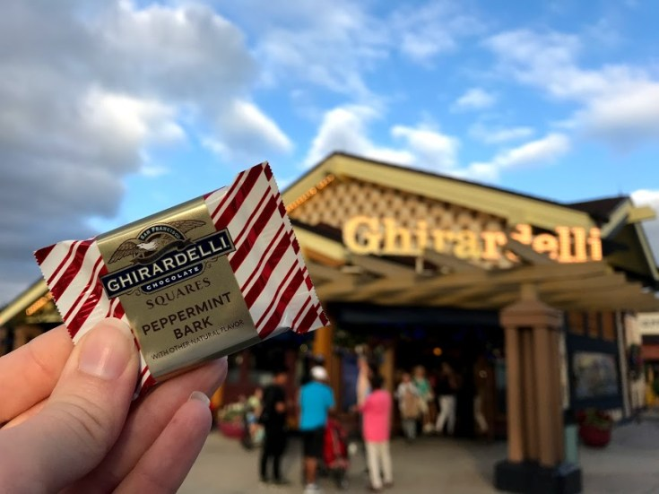 Free Chocolate Disney Springs Christmas