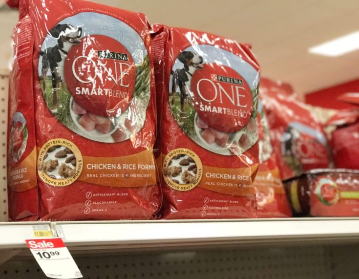 Giggles and Wiggles Shopping at Target Pet Essentials with Purina