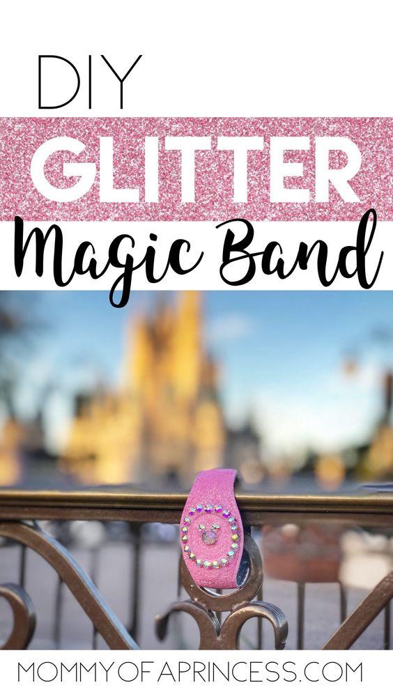 DIY Glitter Magic Band