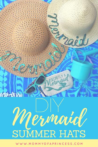 Mermaid Summer Hats