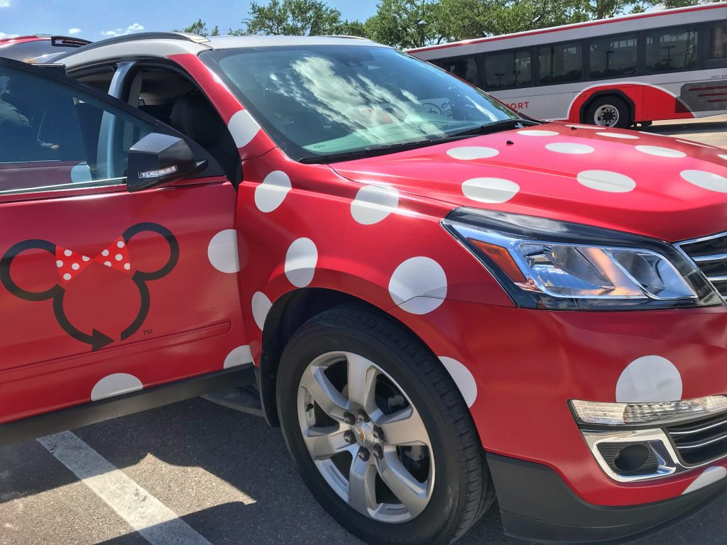 Lyft Minnie Van Transportation at Walt Disney World