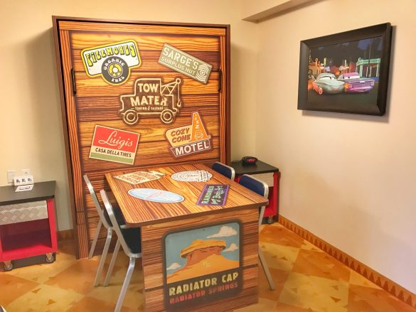 Art of Animation Cars Family Suite Disney with Preschoolers