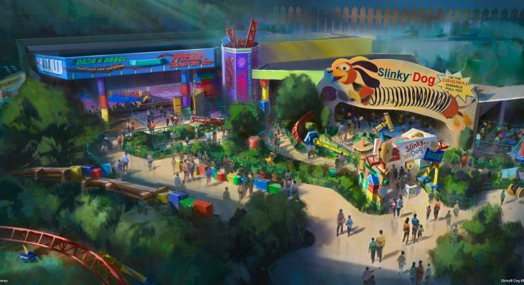 Toy Story Land to Open at Disney's Hollywood Studios Summer 2018