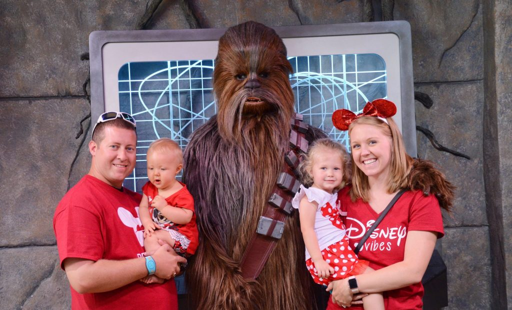 May the 4th Be With You: Celebrating Star Wars Day at Hollywood Studios Meeting Chewbacca