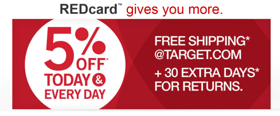 Target Red Card Save Money on Walt Disney World Vacation