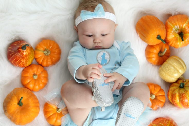 Cinderella Baby photos DIY