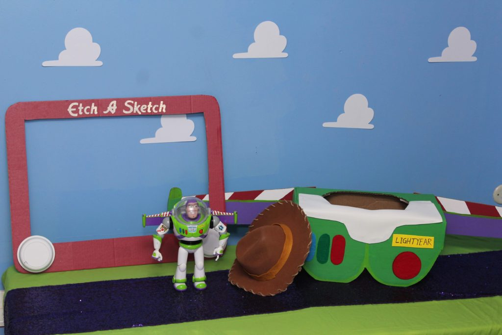 Toy Story Birthday Party DIY Photo Props