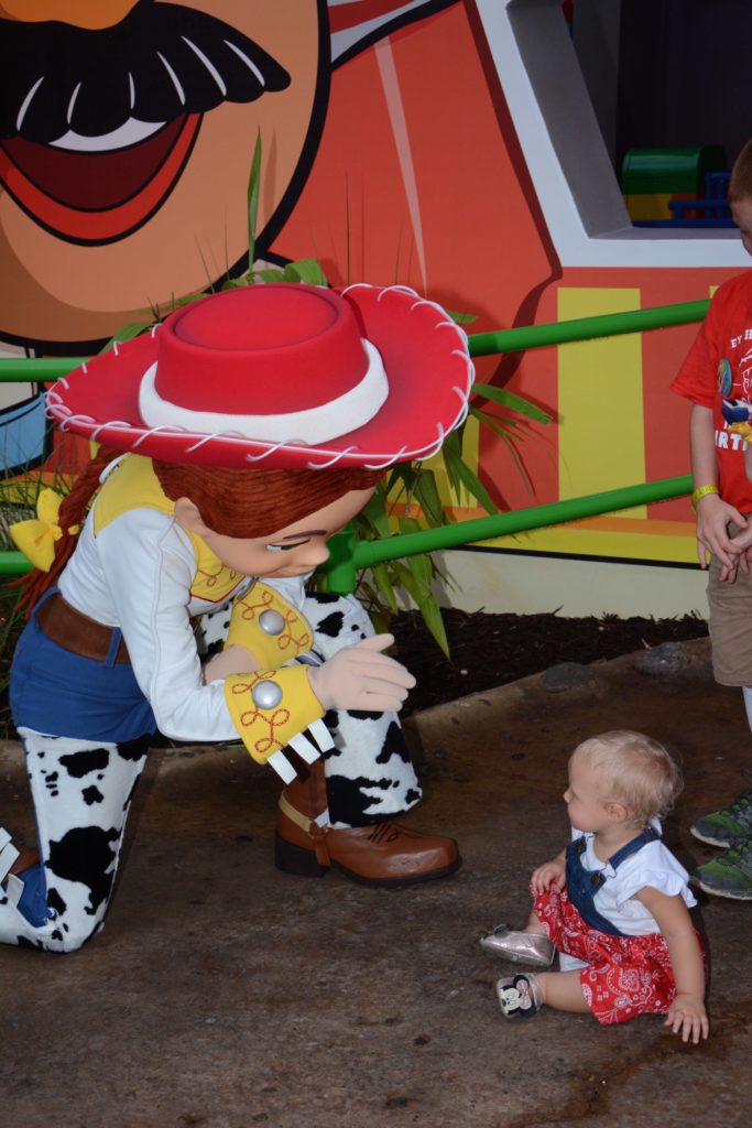 Toy Story Land Meeting Jessie