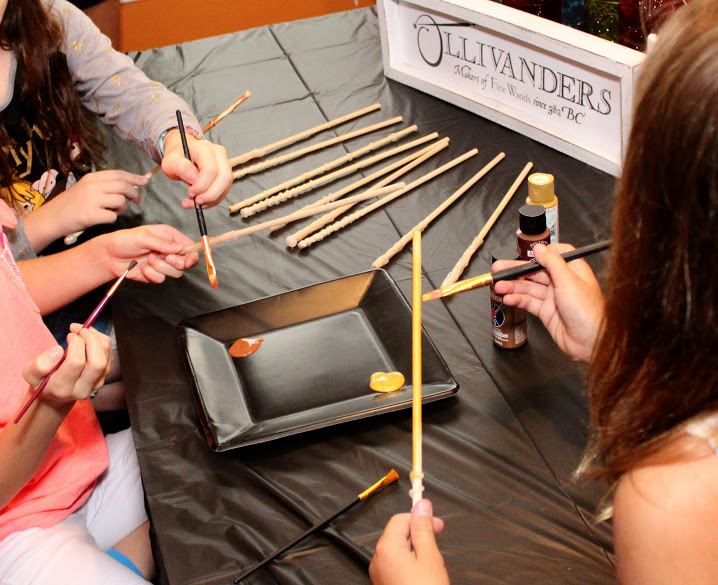 harry potter birthday party activities