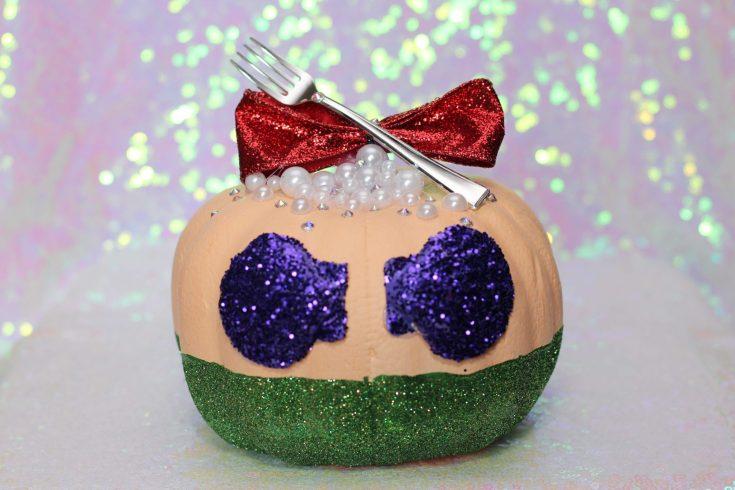 DIY Disney Princess Pumpkins: Ariel Little Mermaid Pumpkin Ideas