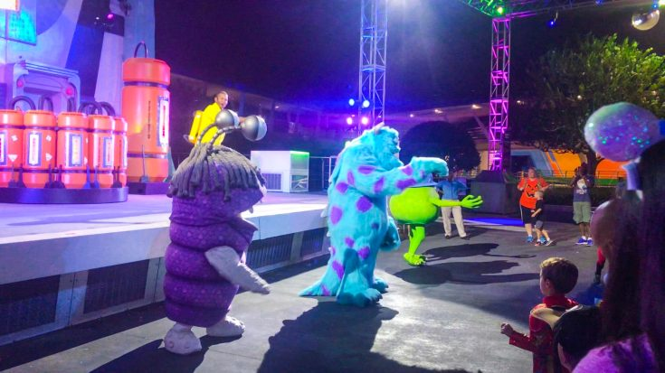 Monsters Inc Dance Party Mickey's Halloween Party